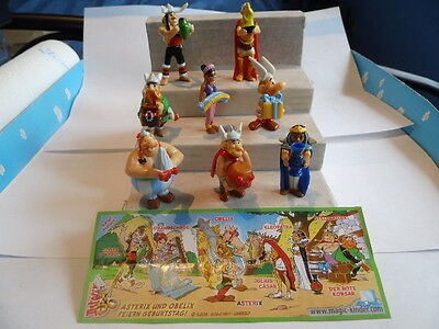 Kinder Egg Toys---ASTERIX 50th ANNIVERSARY