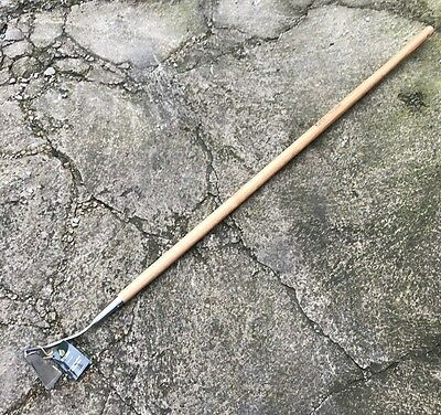 Kent & Stowe Stainless Steel Long Handle 3 Edge Hoe - Garden Tool