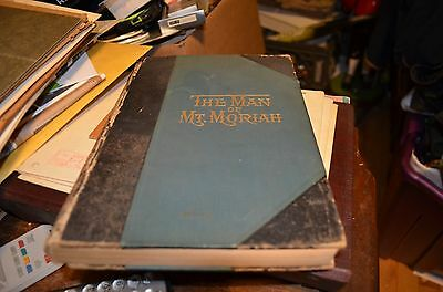 The Man of Mount Mt. Moriah a Great Masonic Story 1898 - Antique Masonic Book