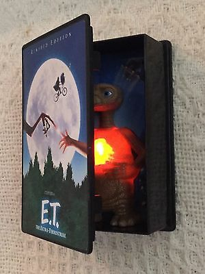 ET Extra Terrestrial Limited Edition VHS Promo Box With Light Up Figure