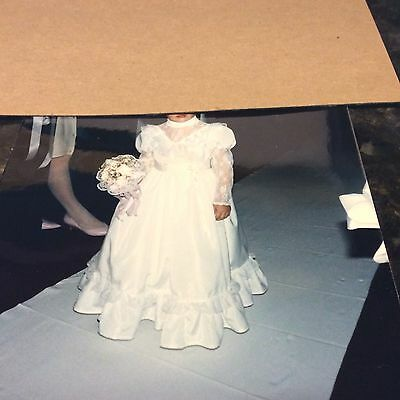 Vintage Childs Flower Girl's Gown