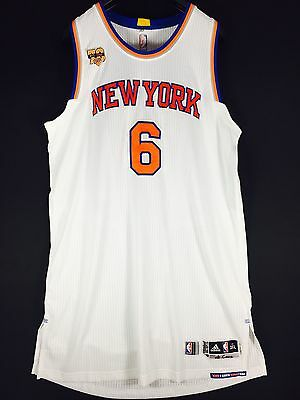 Game Issue Worn Porzingis Knicks 3XL +4 NBA Trikot Basketball Jersey