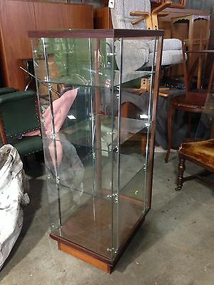 Shop display glass cabinet