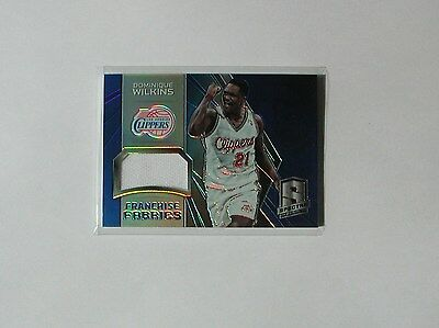 Carte Numerotee Nba Dominique Wilkins Los Angeles Clippers Jersey