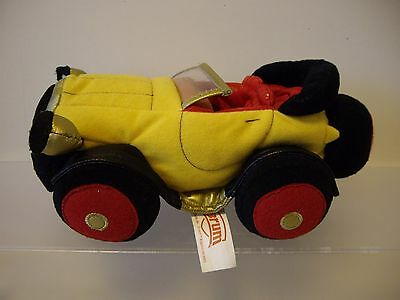 Collectable Brum the Wibbly Wobbly Car 2003 Soft Plush Toy