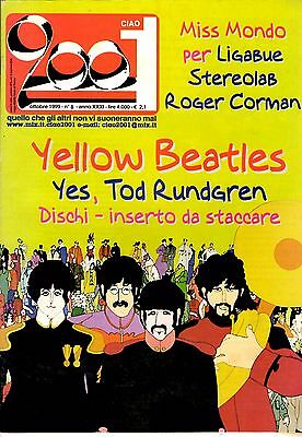 Ciao 2001 N.8 - Ottobre 1999 - Nuova Serie - Beatles, Yes, Stereolab, Ligabue