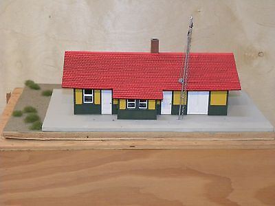 Hand Made Pineview Station by Richard Eggertson
