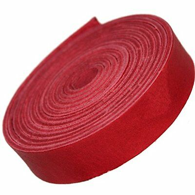 Tofl TOFL ¾ Inch Leather Strap Cardinal Red