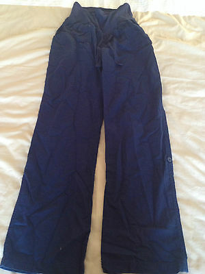womans  blooming marvellous maternity trousers good condition size 10