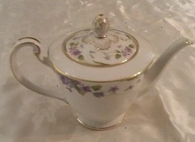 "noritake "" nancy "" teapot (5163) excellent condition"