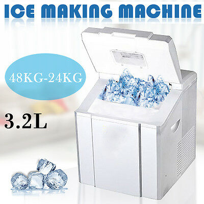 18-24kgs/24h Portable Ice Cube Maker Home Cafe Bar Party Icecube Making Tool