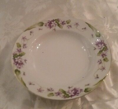 "noritake "" nancy "" soup bowl (5163) excellent condition"