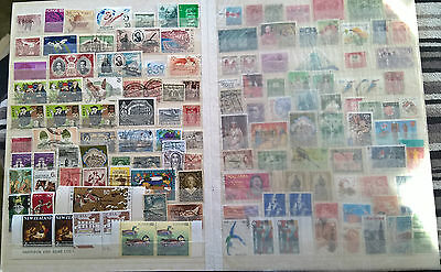 Mixed world stamps all different