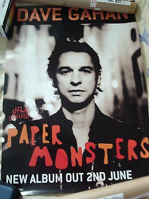 Dave Gahan Poster Paper Monsters