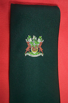 2 OFFICIAL  DERBYSHIRE COUNTY COUNCIL TIE  for UNIFORM  TRANSPORT MUNICIPAL etc