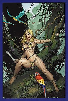 Jungle Girl #1  Frank Cho Virgin Incentive Variant cover 2007 Dynamite