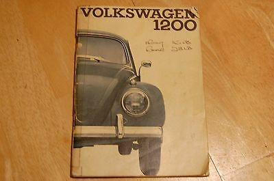 Volkswagon Beetle Manual