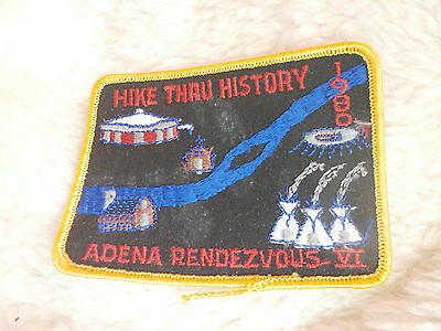@ Scout / Guides Hike Through History 1980 Adena Rendezvous Vi (F)