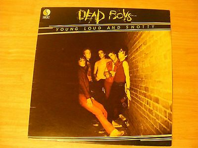 Dead Boys - Young Loud And Snotty - 1977 Uk 1St Pressing Sire 9103 329