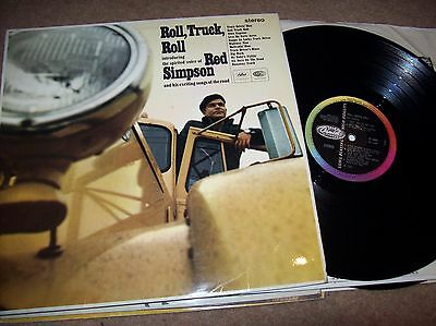 red simpson - roll, truck, roll....1966 capitol l.p