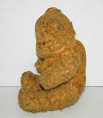 "Vintage 8"" JOINTED TEDDY BEAR with Hump on Back"