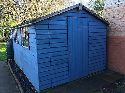 Large garden shed, 12 x 8ft