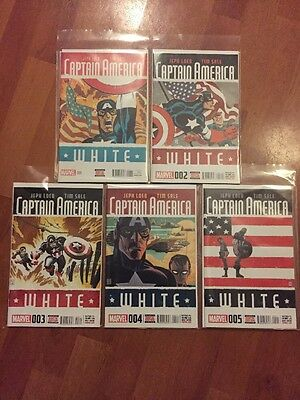 Captain America: White issues #1 - #5 (complete series)