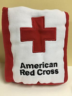 """American Red Cross Embroidered Fleece Blanket Throw 51"""" x 71"""" NEW"""