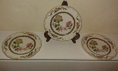 Crescent ware ( Enfield) side plates (3)