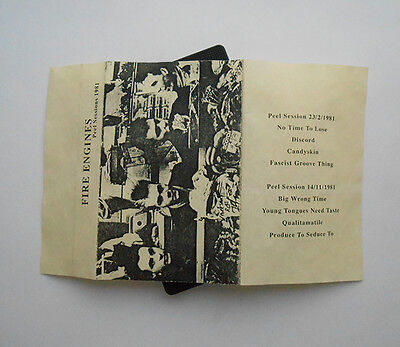 FIRE ENGINES - Peel Sessions 1981 - RARE TAPE - INDIE C86 POST-PUNK