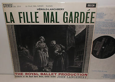 SXL 2313 Herold-Lanchbery La Fille Mal Gardee Excpts Royal Opera Hse Orch TAS NB