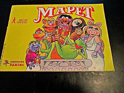 The Muppet Show, 1980 - Album With All Stickers In It - Rare
