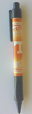 Orange and black pen for the Tennessee Volunteers.  Colorful graphics on barrel.