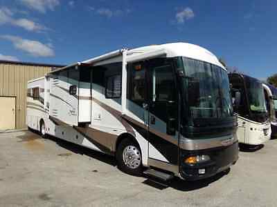 Beautiful 2003 American Tradition Diesel Pusher Class A! 3 Slides! Loaded!