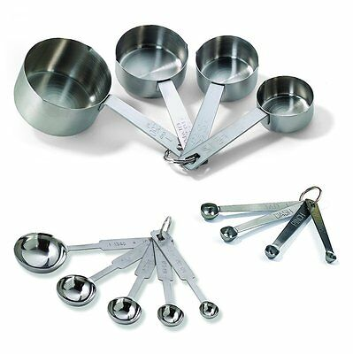 TableCraft Bakers Doxen Measuring Set Includes Measuring Spoons, Measuring Cups