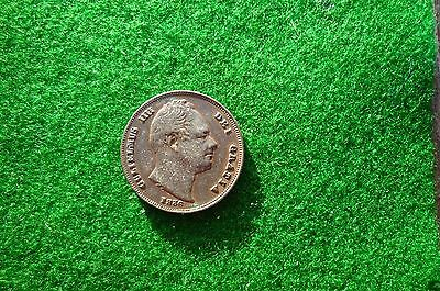 William IIII 1836 farthing
