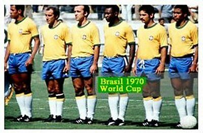 Fridge Magnet Football Brazil 1970, Bespoked, New