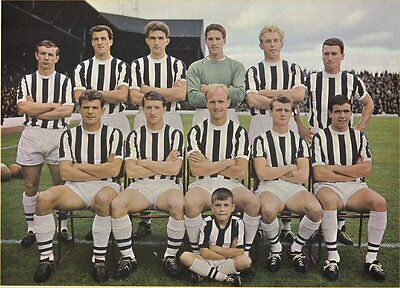 Fridge Magnet Football West Bromwich 1963-64 Soccer 7 x 4.5cm Sport Bespoked