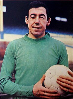 Fridge Magnet Football z Gordon Banks Leicester 7x4.5cm Sports Soccer Bespoked.