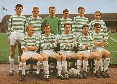 Fridge Magnet Football Celtic 1965-66 Soccer 7 x 4.5cm Sport Bespoked.