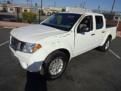 2016 Nissan Frontier SV Crew Cab 2016 Nissan Frontier SV Crew Cab Wrecked Rebuilder Only 836 Miles!! Like New!!
