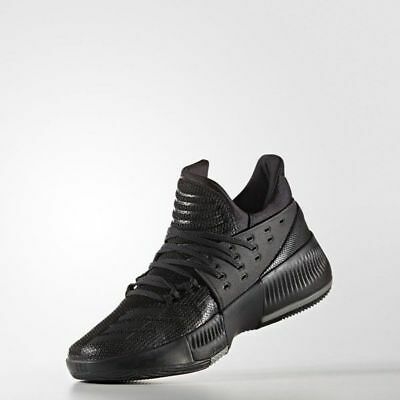 the best attitude 37498 38dca Adidas Dame 3 Damian Lillard Mens Basketball Shoes BY3206 Black US Size  11-12.5
