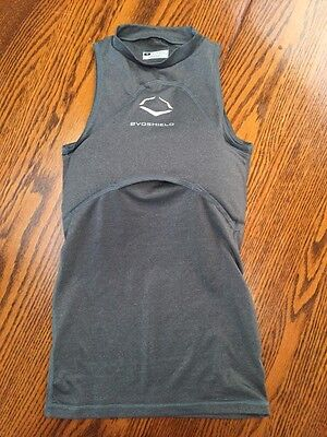 Evoshield Chest Guards--Youth Small. Shirt and unactivated guard