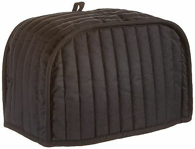 Ritz 01014 Quilted Two Slice Toaster Cover, Black