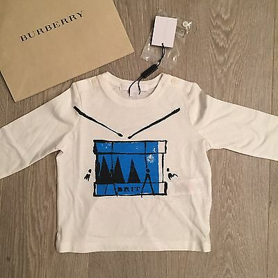 BNWT Baby Boys 9m Burberry Longsleve & Lots Of Designer Clothes 100%Genuine