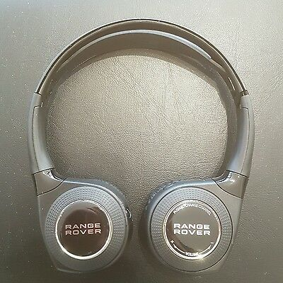 Range Rover Wireless In Car Entertainment Headphones with Bag