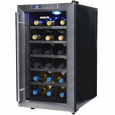 NewAir AW-181E 18 Bottle Thermoelectric Wine Cooler
