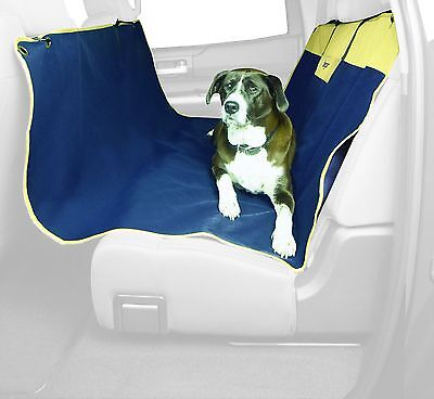 Bergan Back Seat Hammock, 600D Polyester, Navy and Sand