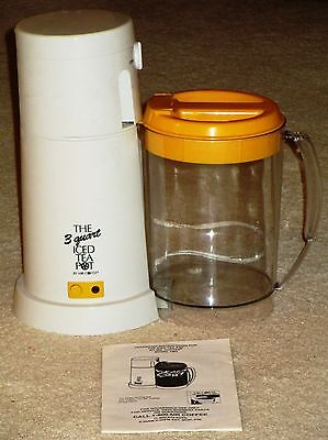 The 3-Quart Iced Tea Pot/Maker By Mr. Coffee