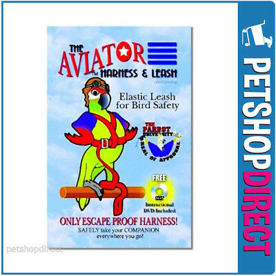 The Aviator Harness & Leash (w/DVD)-  FREE DELIVERY